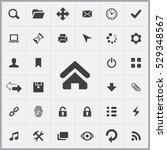 app icons universal set for web ... | Shutterstock . vector #529348567
