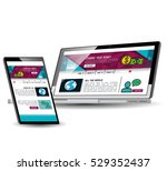 website template in electronic...