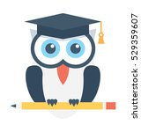 owl vector icon | Shutterstock .eps vector #529359607