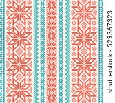embroidered ornamental seamless ...   Shutterstock .eps vector #529367323