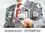 industry 4.0 business concept.... | Shutterstock . vector #529368763