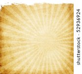 aged paper with sunburst | Shutterstock . vector #52936924
