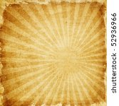 aged paper with sunburst | Shutterstock . vector #52936966
