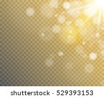 glow light effect. star burst... | Shutterstock .eps vector #529393153