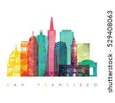 san francisco  united states ...   Shutterstock .eps vector #529408063