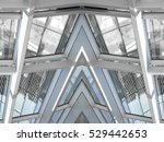 modern architecture with... | Shutterstock . vector #529442653