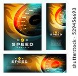 speed cover design. car... | Shutterstock .eps vector #529456693