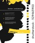 design templates for brochures. ...   Shutterstock .eps vector #529465903
