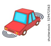 parking assist system icon....   Shutterstock .eps vector #529472563