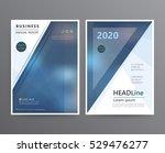 business template for brochure  ... | Shutterstock .eps vector #529476277