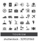 set of premium quality tourism... | Shutterstock .eps vector #529519363