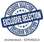 exclusive selection. stamp.... | Shutterstock .eps vector #529540213