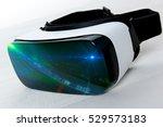 virtual reality googles  vr | Shutterstock . vector #529573183