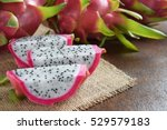 Healthy Dragon Fruits On...