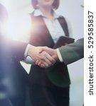 business people meeting... | Shutterstock . vector #529585837