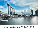 singapore  november 7  view of... | Shutterstock . vector #529601227