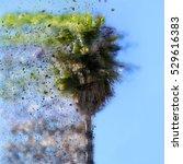 Digitally Enhanced Image Of An...