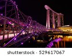 singapore  november 7  night... | Shutterstock . vector #529617067