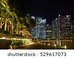 singapore  november 7  night... | Shutterstock . vector #529617073