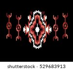 ethnic design | Shutterstock .eps vector #529683913