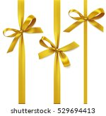 vector set of decorative golden ... | Shutterstock .eps vector #529694413