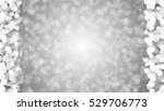 abstract particle lights bokeh... | Shutterstock . vector #529706773