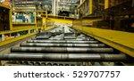 conveyor rollers transport...   Shutterstock . vector #529707757