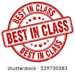 best in class. stamp. red round ... | Shutterstock .eps vector #529730383