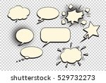 comics bubble set | Shutterstock .eps vector #529732273