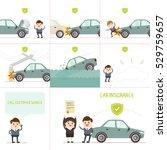 infographics businessman have...   Shutterstock .eps vector #529759657
