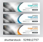 abstract banner design... | Shutterstock .eps vector #529812757