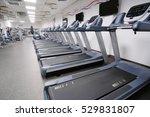 image of treadmills in a...   Shutterstock . vector #529831807