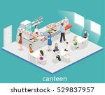 isometric flat 3d concept...   Shutterstock .eps vector #529837957
