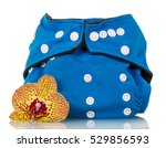Reusable Diaper Blue And Orchi...