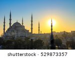 the sultan ahmed mosque or... | Shutterstock . vector #529873357