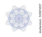 guilloche rosette element....   Shutterstock .eps vector #529874557