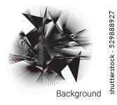 vector geometric background....