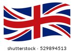 the flag of united kingdom of... | Shutterstock .eps vector #529894513