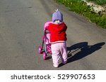 baby with pram | Shutterstock . vector #529907653