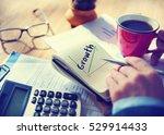 success growth development... | Shutterstock . vector #529914433