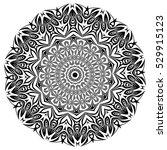 mandala. ethnic decorative... | Shutterstock .eps vector #529915123