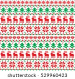 new year's christmas pattern... | Shutterstock .eps vector #529960423
