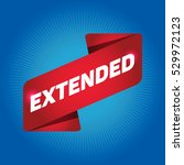 extended arrow tag sign. | Shutterstock .eps vector #529972123