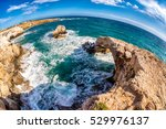 Sea Caves Near Ayia Napa. The...