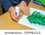 children at a lesson of the... | Shutterstock . vector #529981213