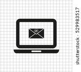 computer    black vector icon   Shutterstock .eps vector #529983517