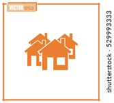 vector illustration with group... | Shutterstock .eps vector #529993333