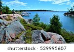 the view of georgian bay along... | Shutterstock . vector #529995607