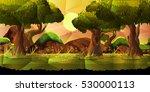 landscape  nature vector... | Shutterstock .eps vector #530000113