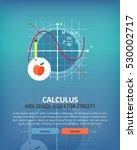 set of flat design illustration ... | Shutterstock .eps vector #530002717